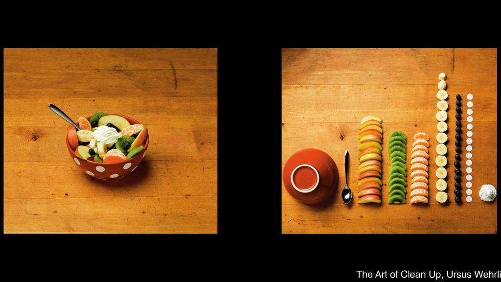 The Art of Clean Up, Ursus Wehrli