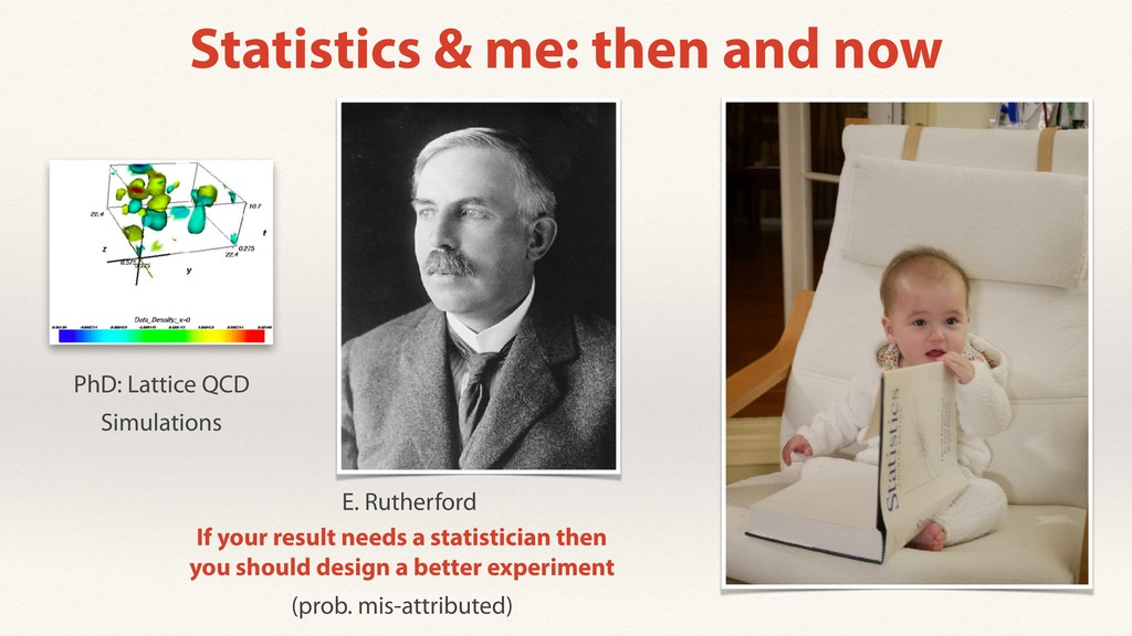 Statistics & me: then and now If your result ne...