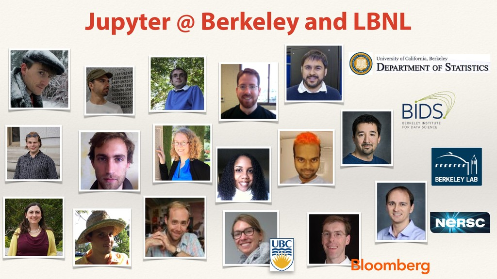 Jupyter @ Berkeley and LBNL