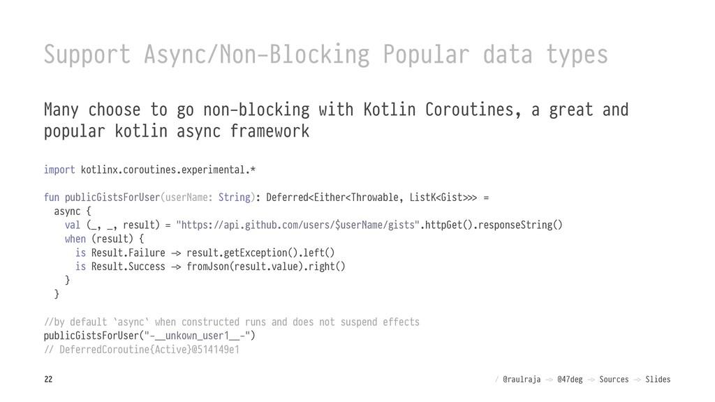 Support Async/Non-Blocking Popular data types M...