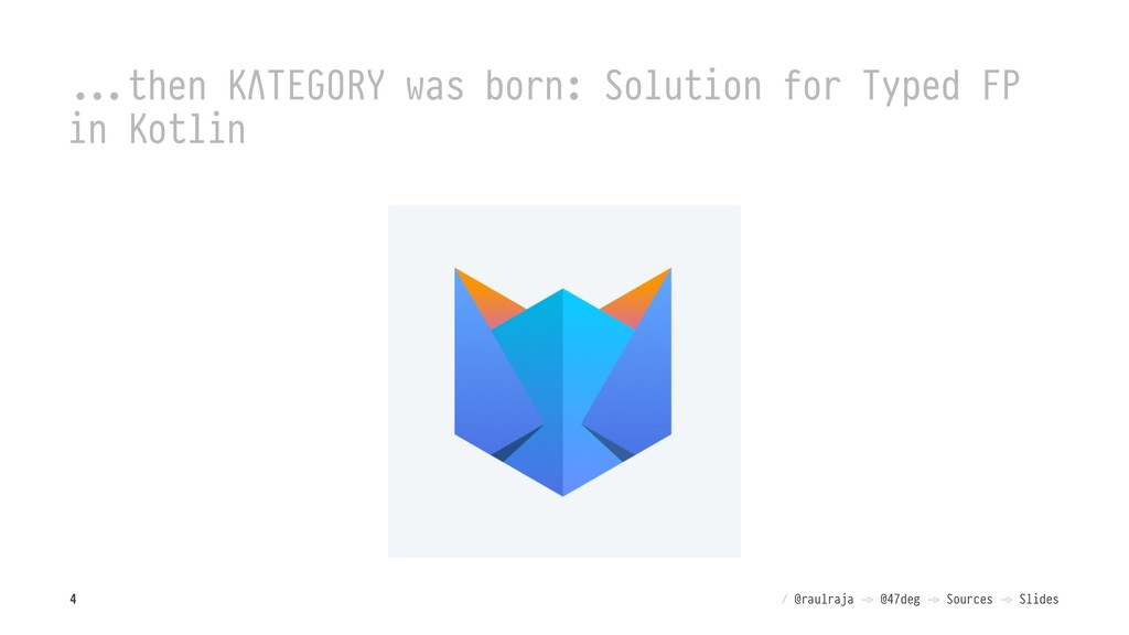 """!!""""then KΛTEGORY was born: Solution for Typed F..."""
