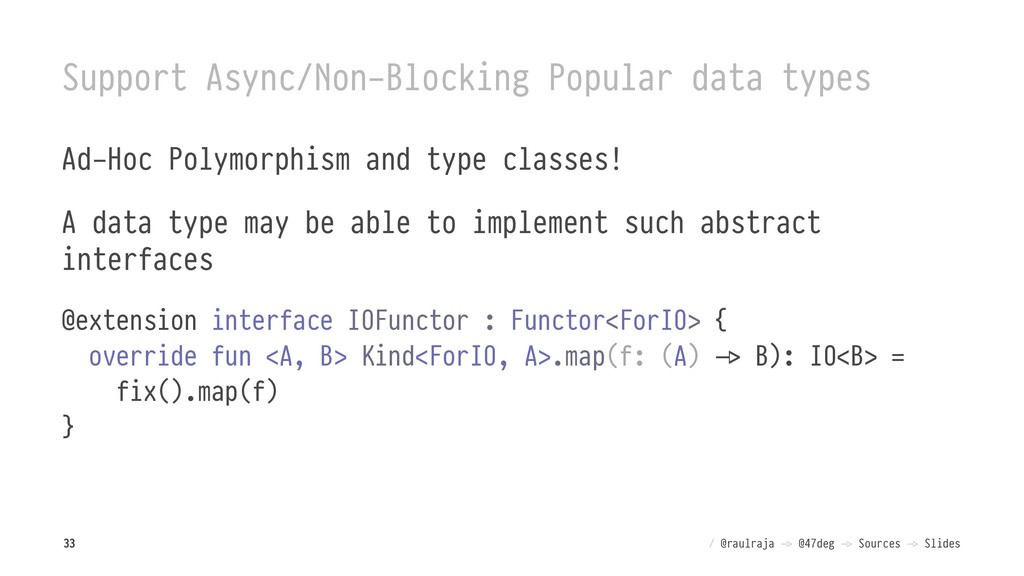 Support Async/Non-Blocking Popular data types A...