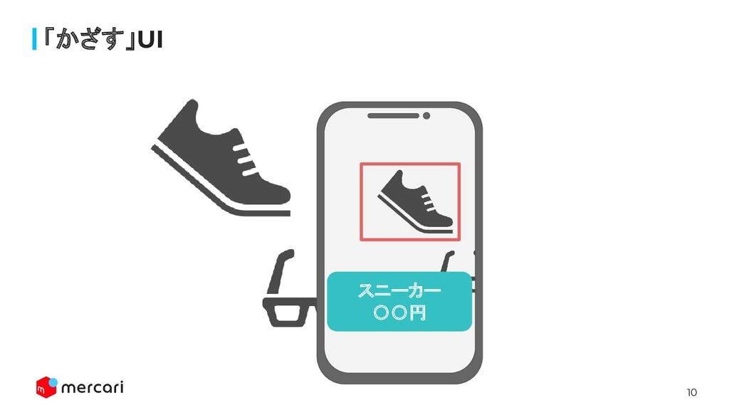 10 「かざす」UI スニーカー 〇〇円