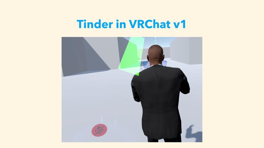 Tinder in VRChat v1