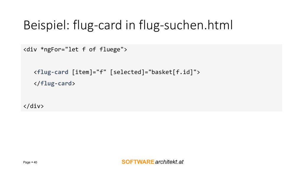 Beispiel: flug-card in flug-suchen.html Page ▪ ...