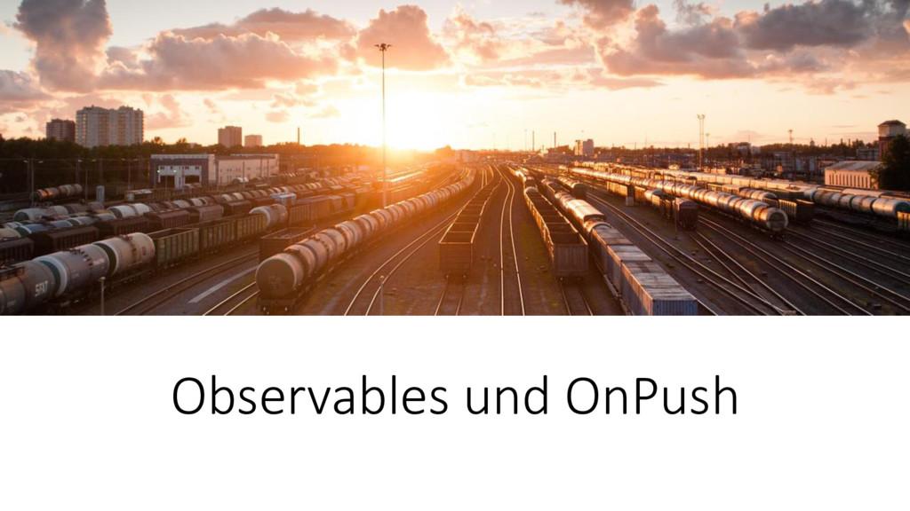 Observables und OnPush