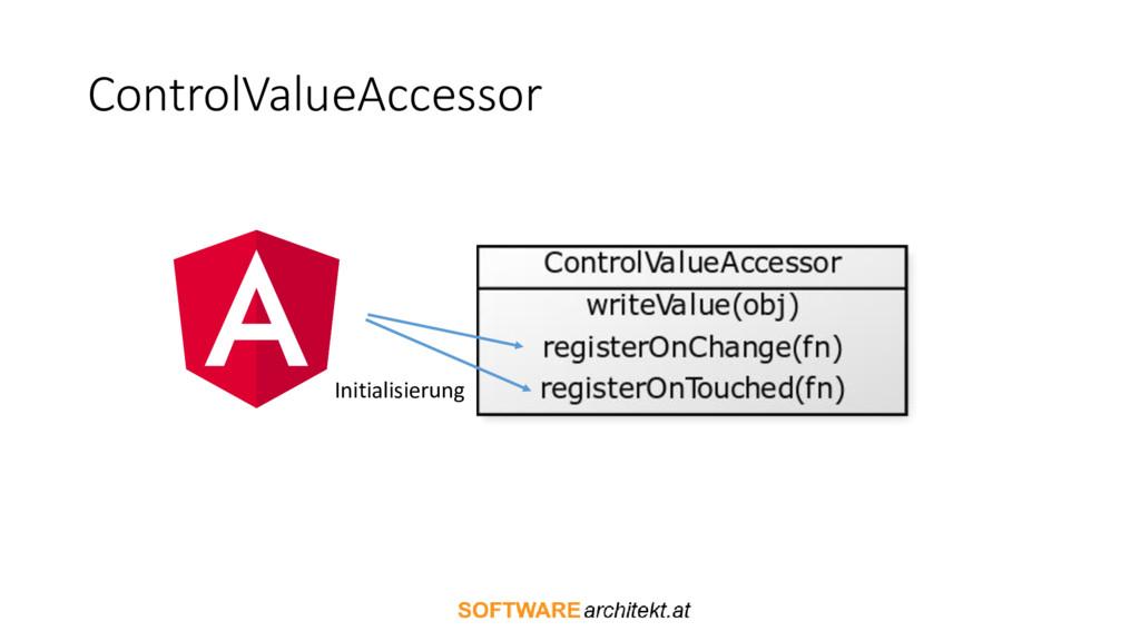 ControlValueAccessor Initialisierung