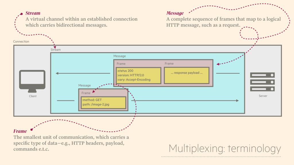 & Client $ Server Stream Message :method: GET :...