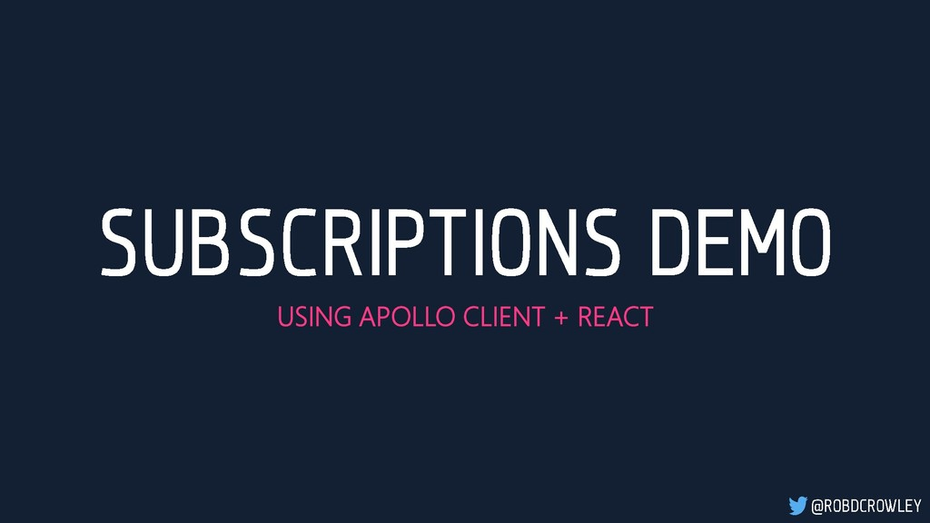 USING APOLLO CLIENT + REACT