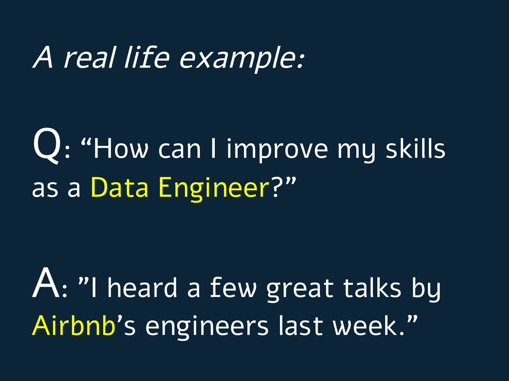 """Q: """"How can I improve my skills as a Data Engin..."""