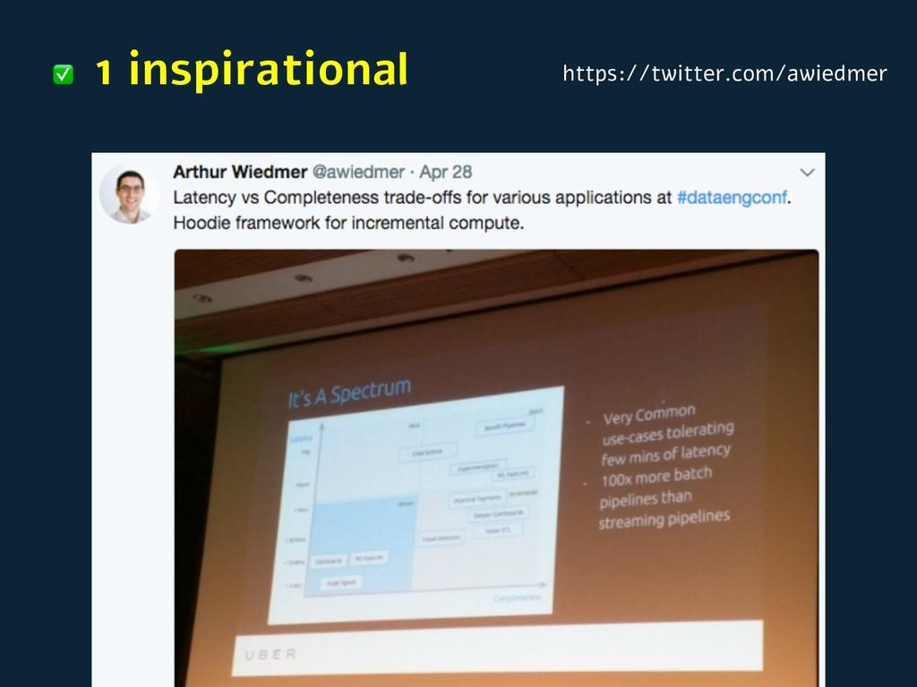 1 inspirational ✅ https://twitter.com/awiedmer