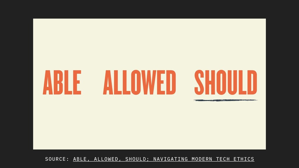 SOURCE: ABLE, ALLOWED, SHOULD; NAVIGATING MODER...