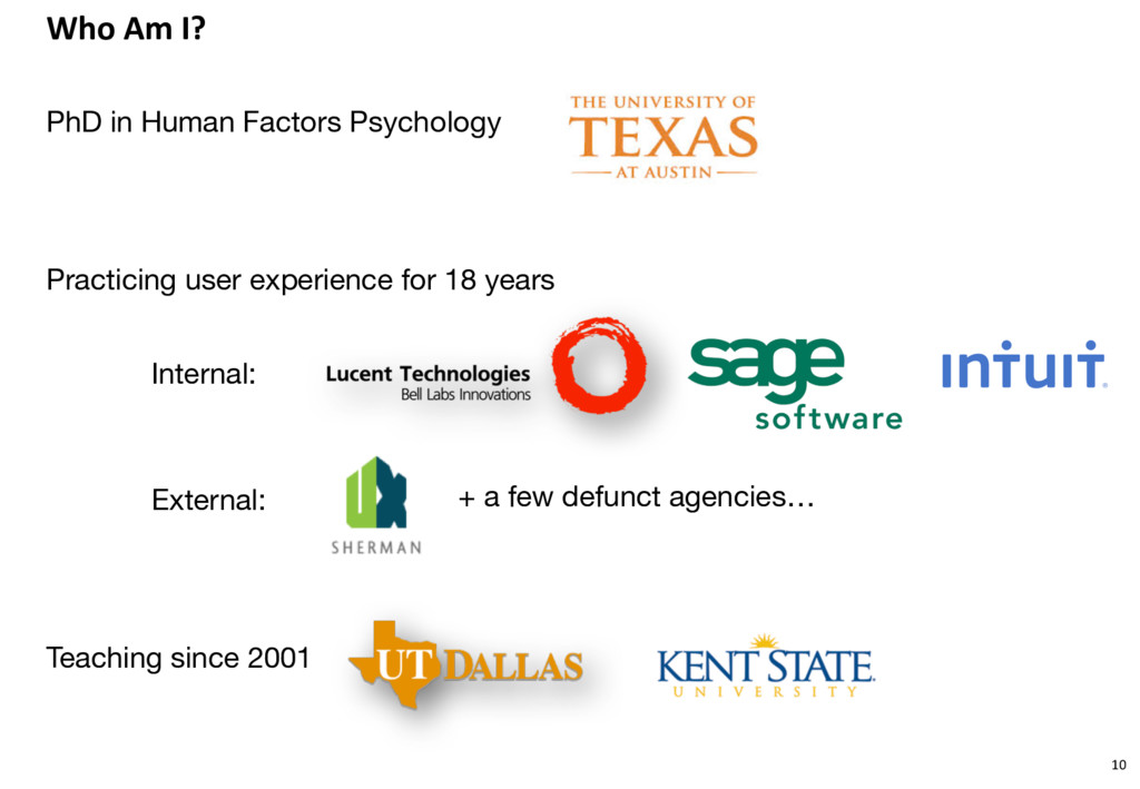 Who Am I? PhD in Human Factors Psychology Pract...