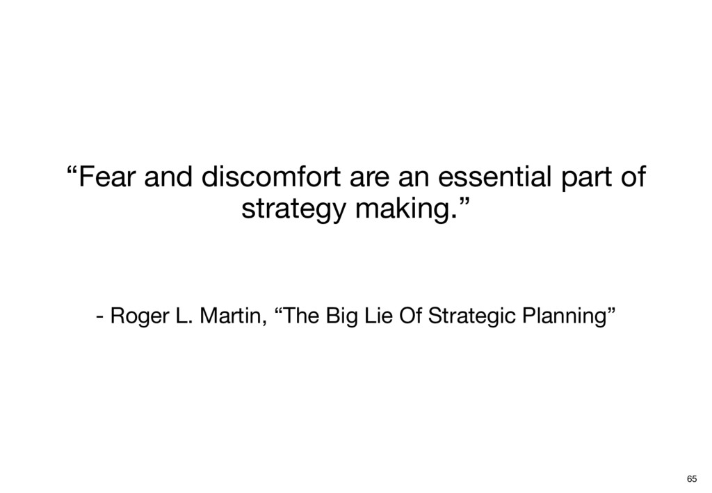 """""""Fear and discomfort are an essential part of s..."""