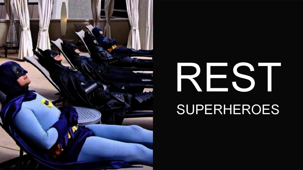 REST SUPERHEROES