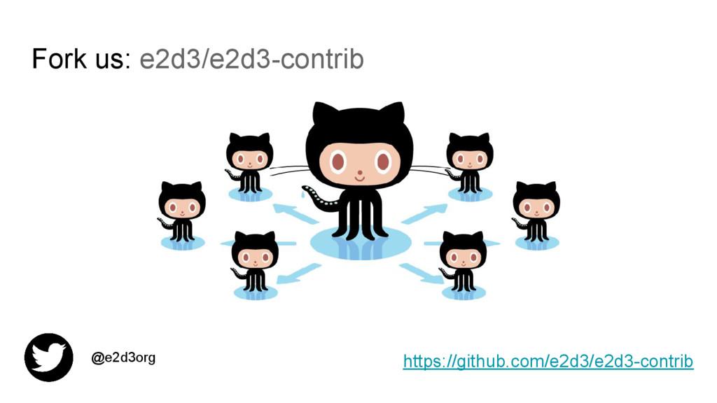 Fork us: e2d3/e2d3-contrib https://github.com/e...
