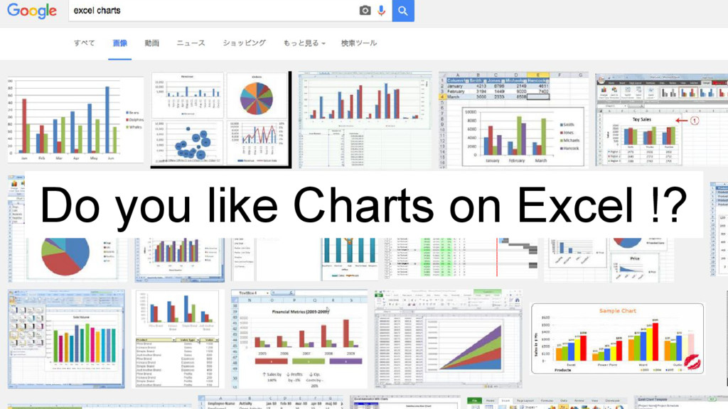 Do you like Charts on Excel !?