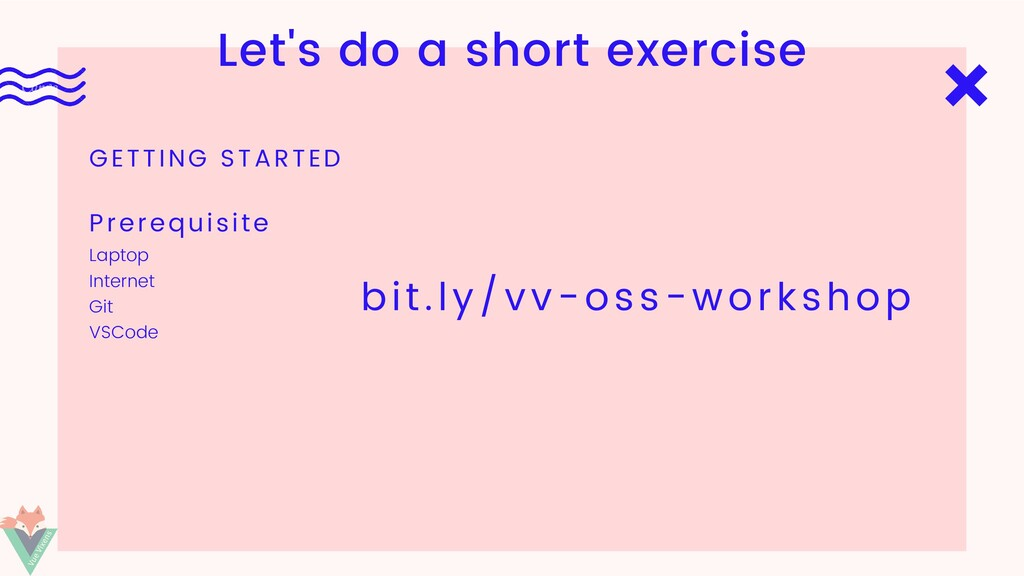 Let's do a short exercise GETTING STARTED Lapto...