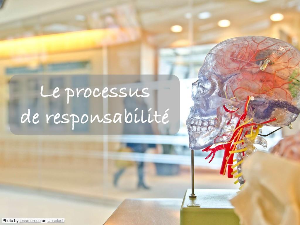 Le processus de responsabilité Photo by jesse o...