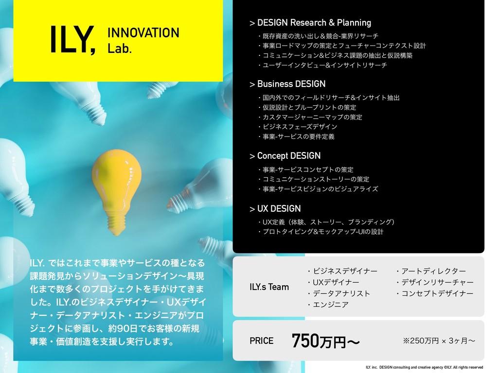 INNOVATION Lab. *-:Ͱ͜Ε·ͰۀαʔϏεͷछͱͳΔ ՝ൃݟ͔Βι...