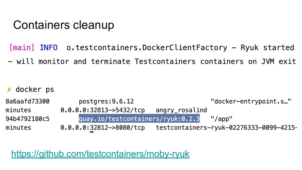 Containers cleanup https://github.com/testconta...