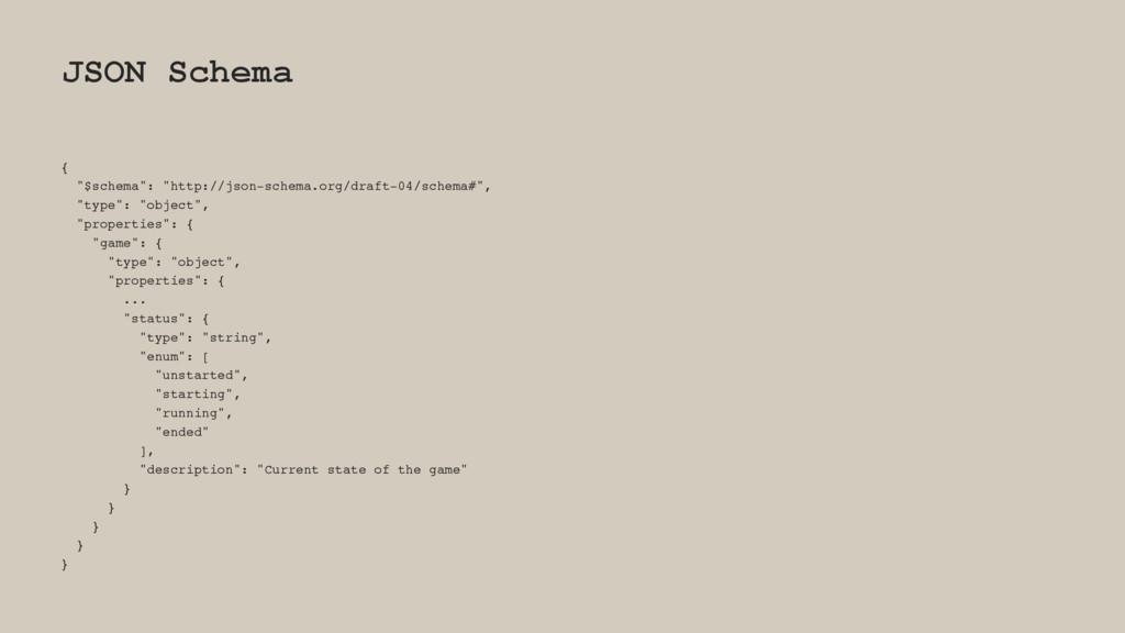 """JSON Schema { """"$schema"""": """"http://json-schema.or..."""
