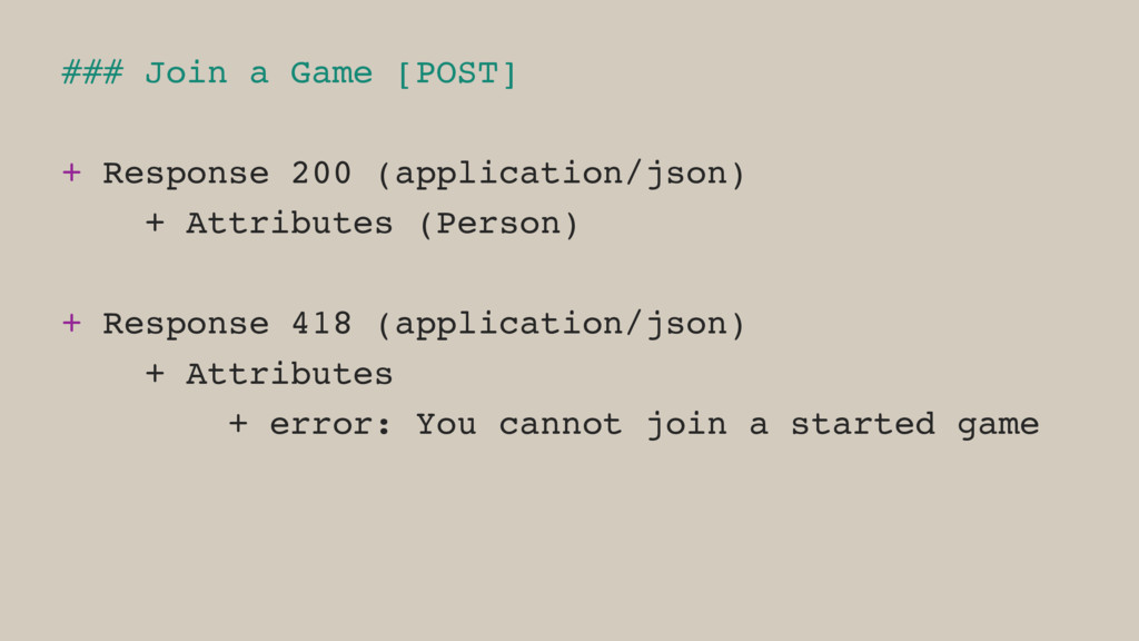 ### Join a Game [POST] + Response 200 (applicat...