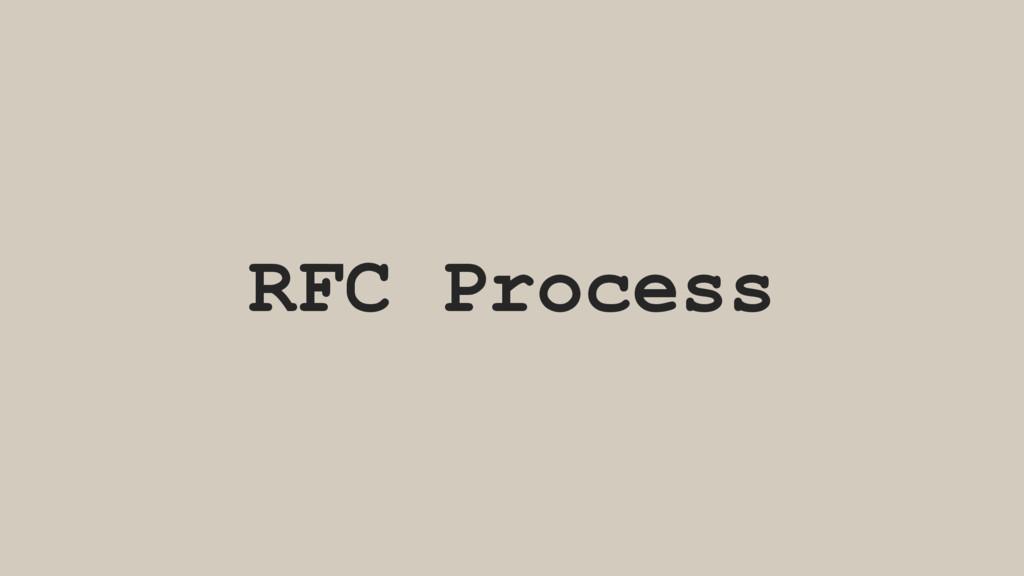 RFC Process