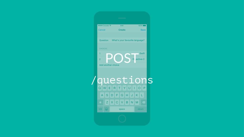 POST /questions