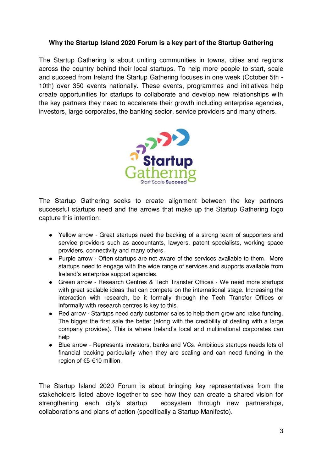 3 Why the Startup Island 2020 Forum is a key pa...