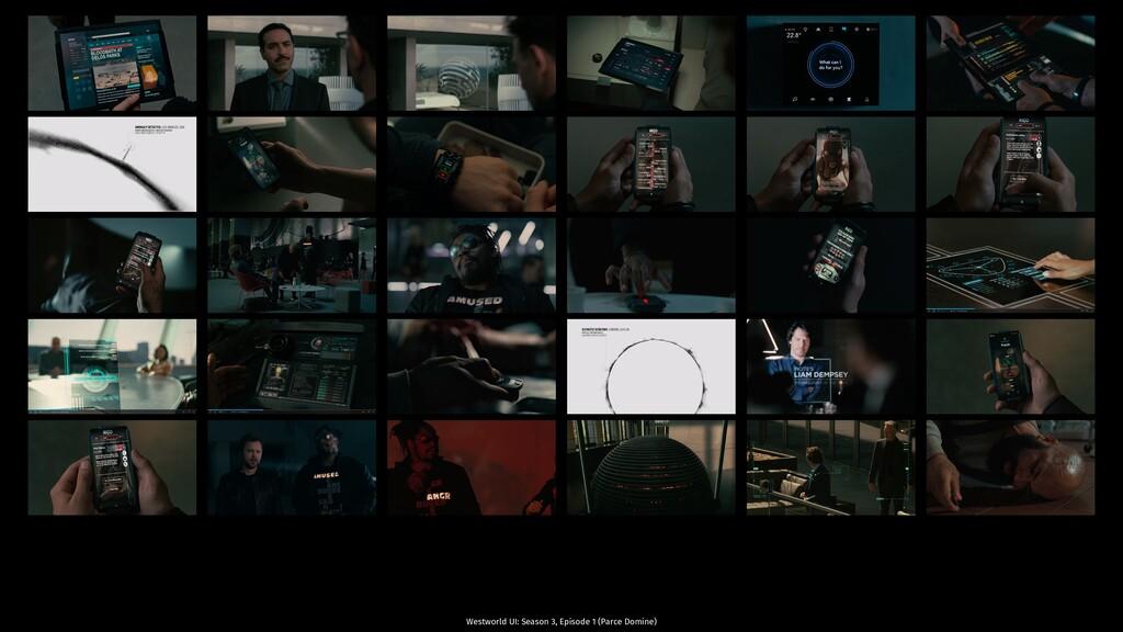 Westworld UI: Season 3, Episode 1 (Parce Domine)