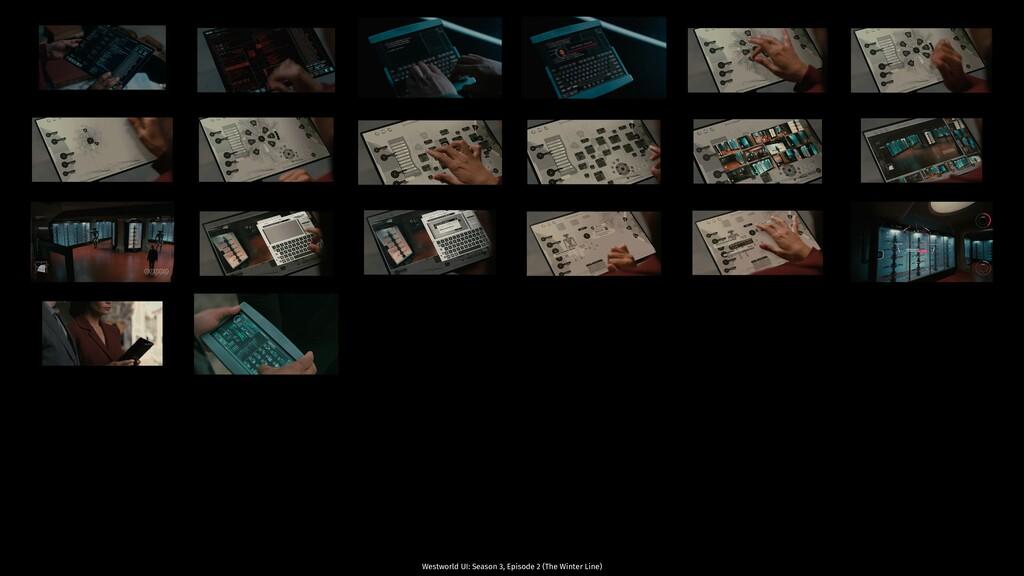 Westworld UI: Season 3, Episode 2 (The Winter L...