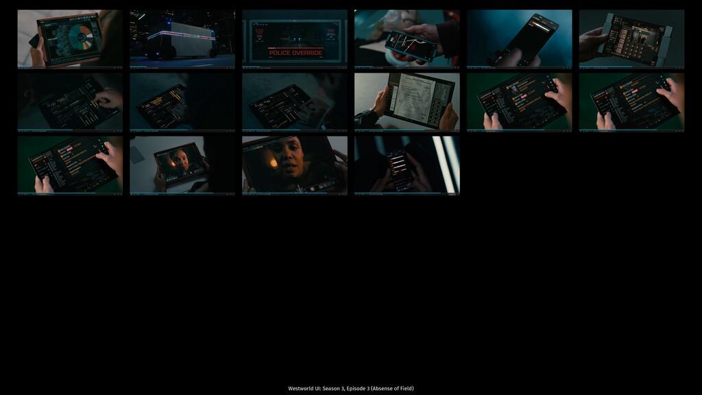 Westworld UI: Season 3, Episode 3 (Absense of F...