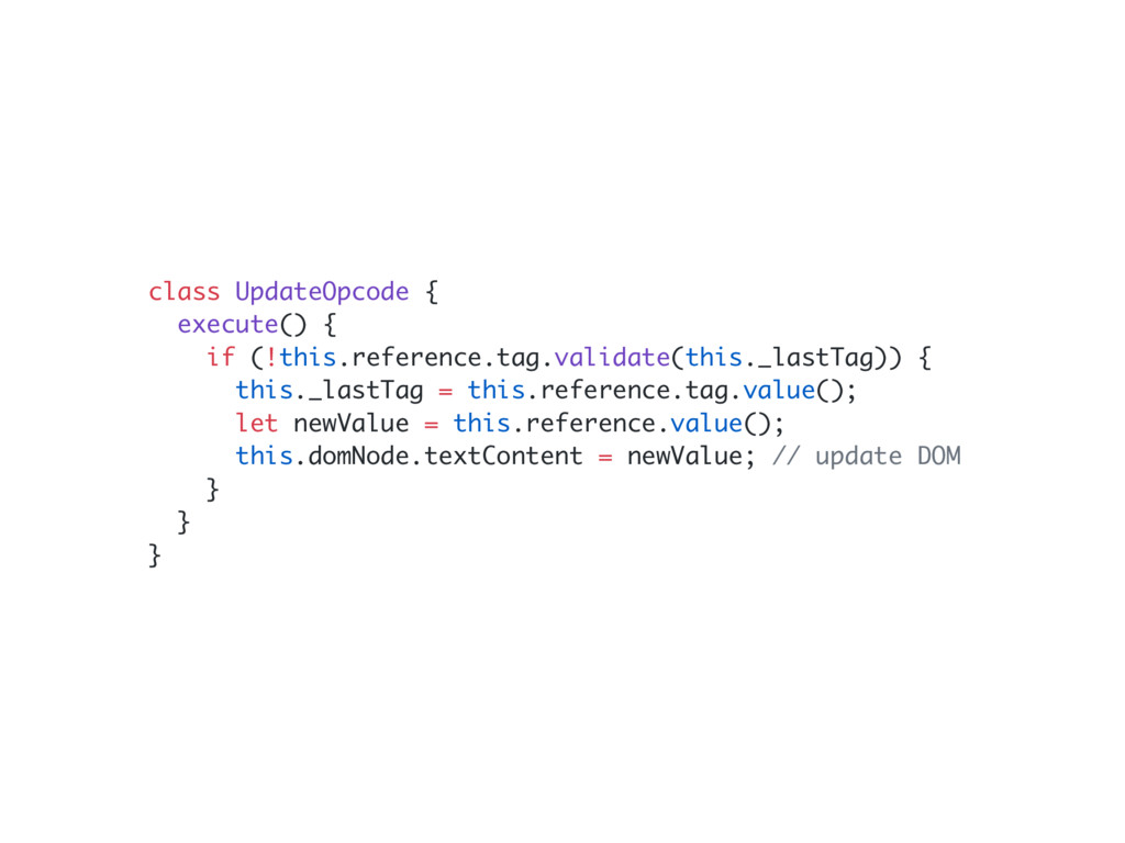 class UpdateOpcode { execute() { if (!this.refe...