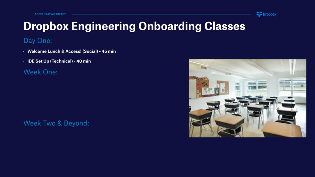 Dropbox Engineering Onboarding Classes Day One:...