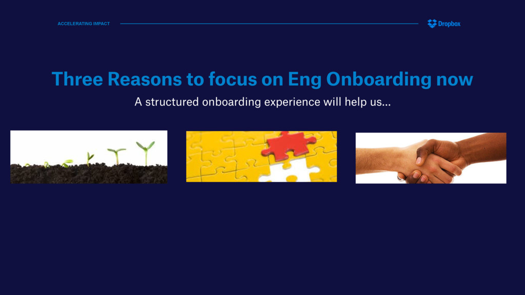 Three Reasons to focus on Eng Onboarding now A ...