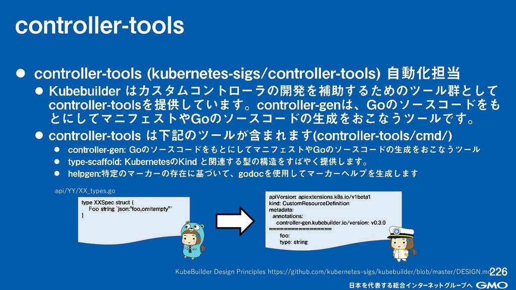 ⚫ ⚫ ⚫ ⚫ ⚫ ⚫ KubeBuilder Design Principles https...