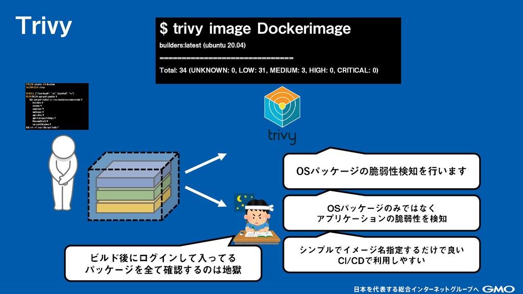 OSパッケージの脆弱性検知