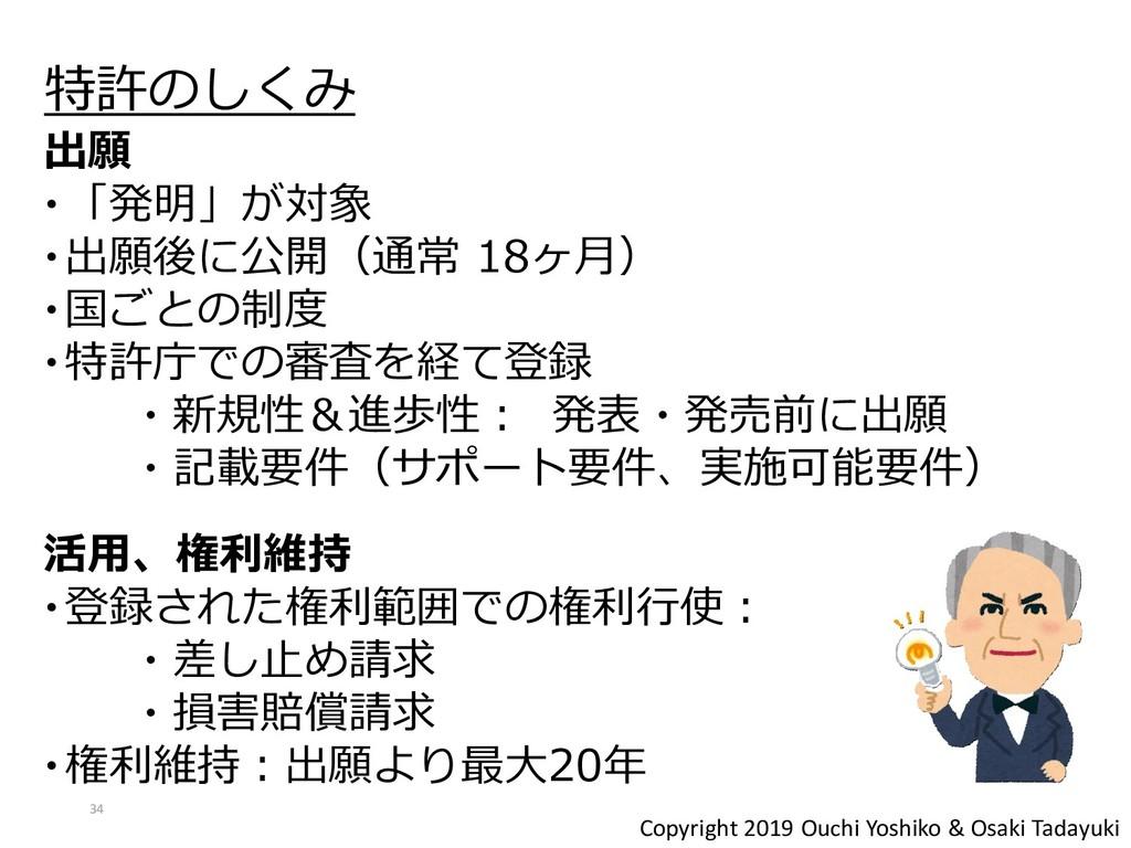 Copyright 2019 Ouchi Yoshiko & Osaki Tadayuki 特...