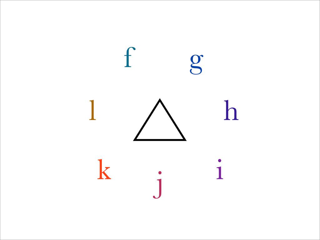 f g h i j k l