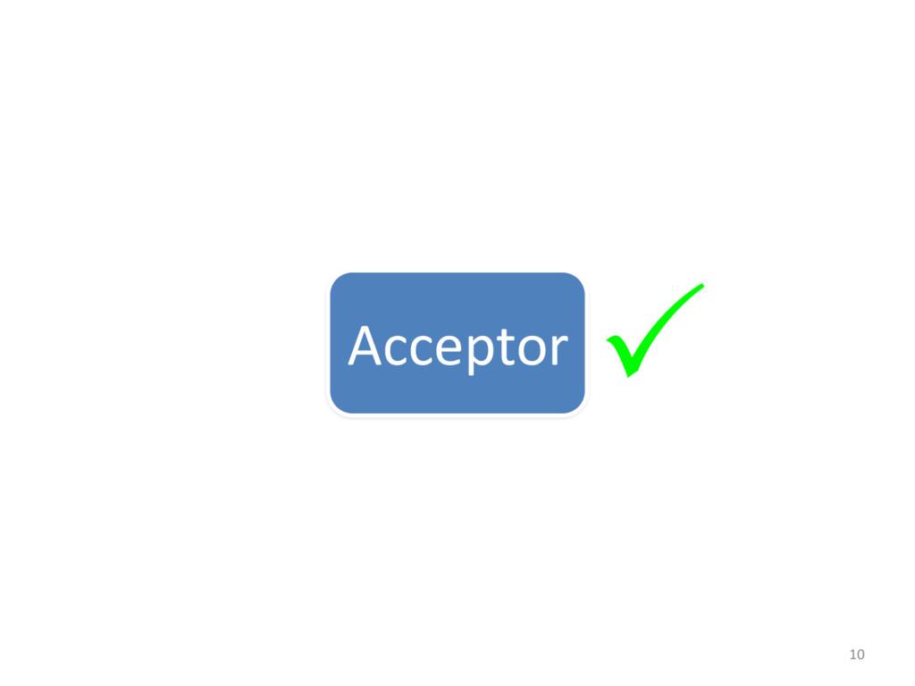 10 Acceptor P