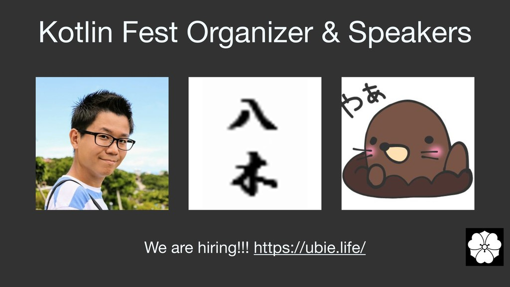 Kotlin Fest Organizer & Speakers We are hiring!...