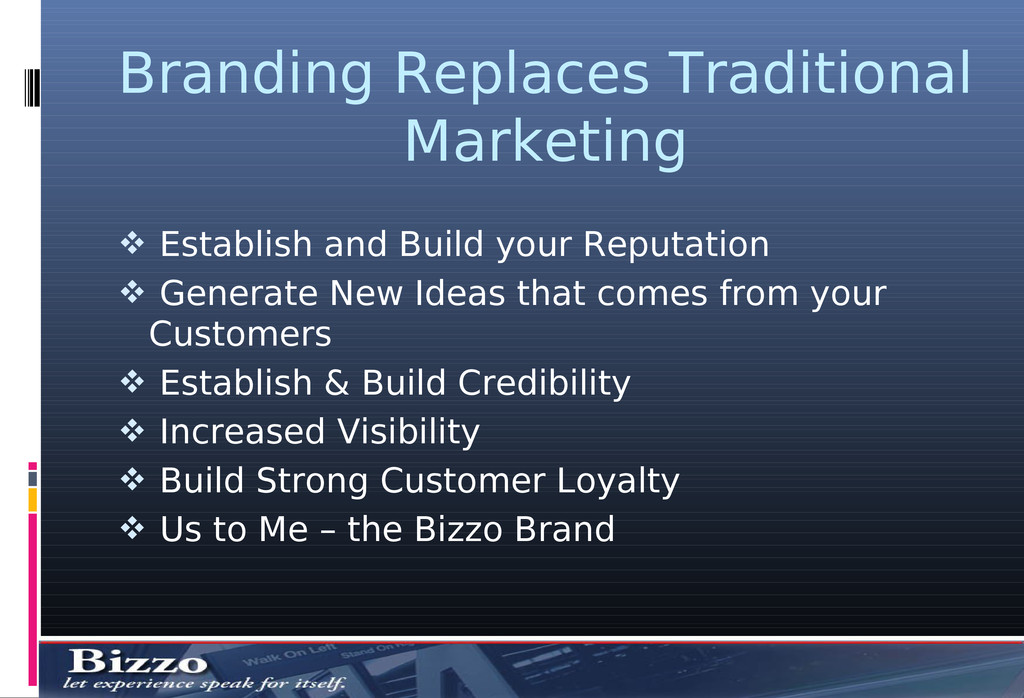 Branding Replaces Traditional Marketing  Estab...