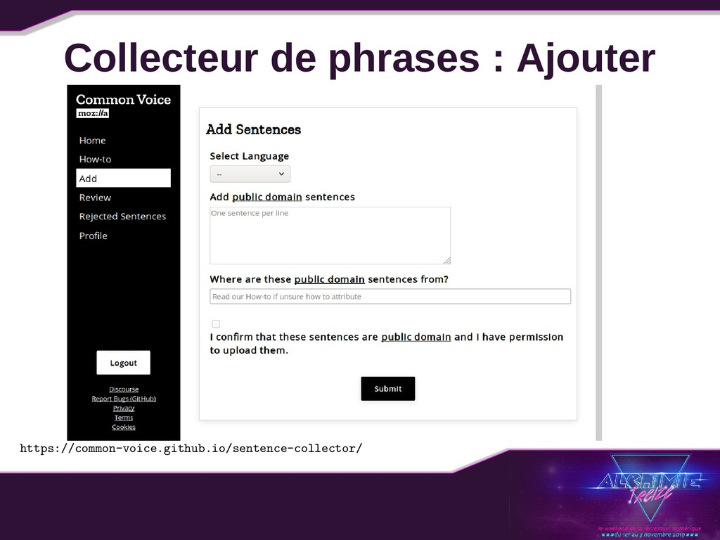 Collecteur de phrases : Ajouter https://common-...