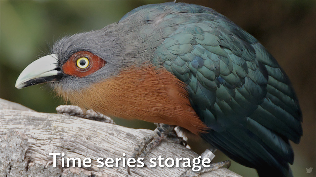 Time series storage