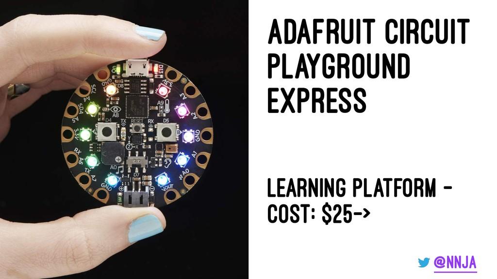 Adafruit Circuit PlayGround Express Learning Pl...