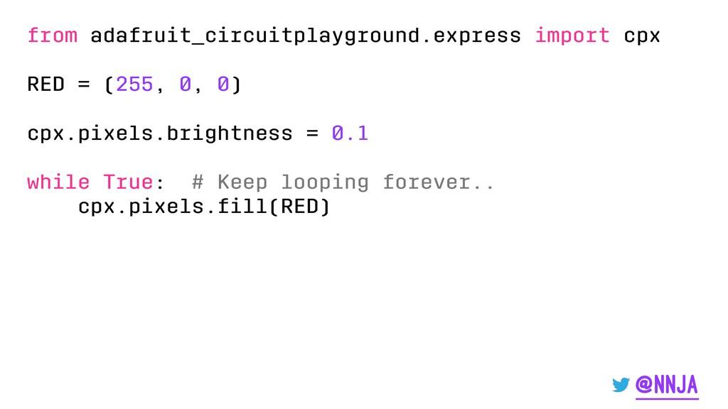 from adafruit_circuitplayground.express import ...