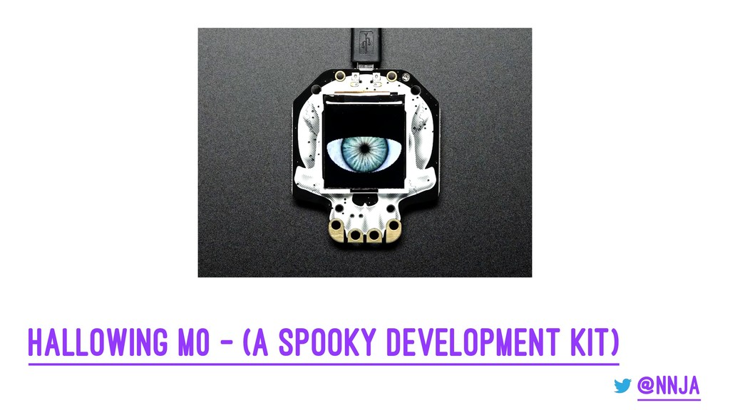 HalloWing m0 - (a spooky development kit) @nnja