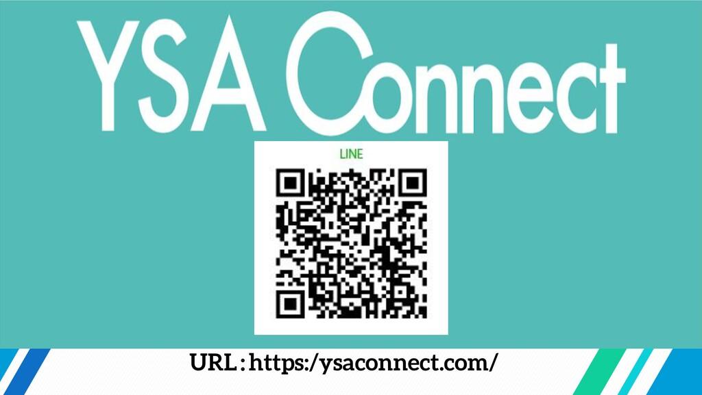 URL:https:/ysaconnect.com/