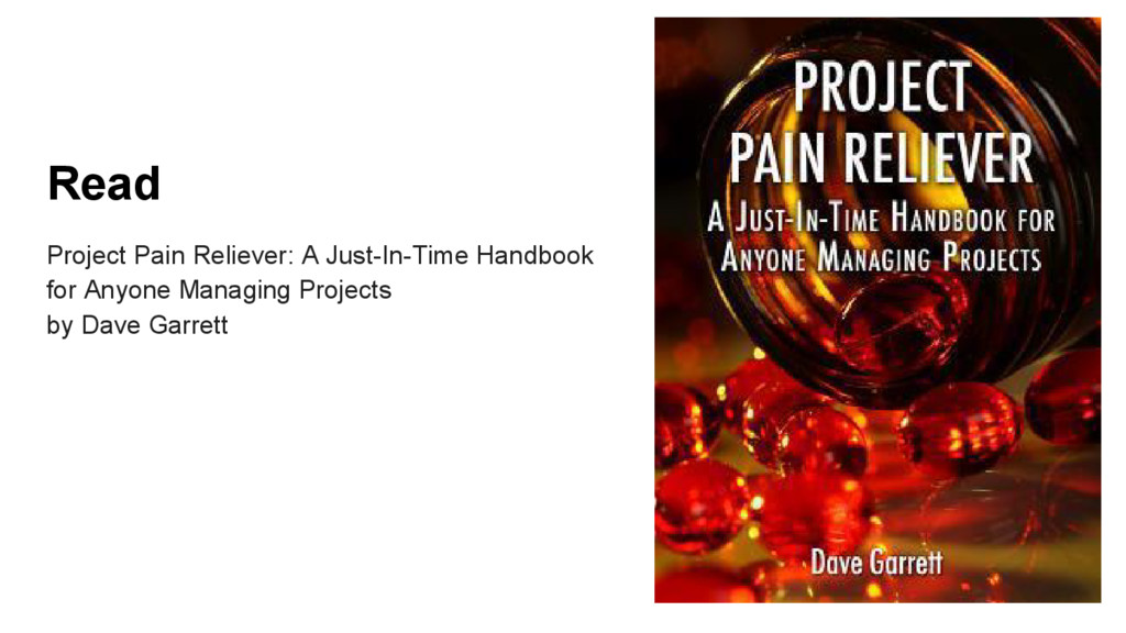 Read Project Pain Reliever: A Just-In-Time Hand...